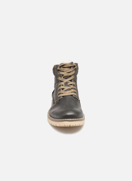 Bottines et boots Mustang shoes 4092609 Gris vue portées chaussures