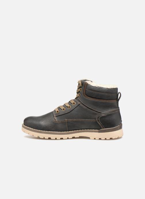 Bottines et boots Mustang shoes 4092609 Gris vue face