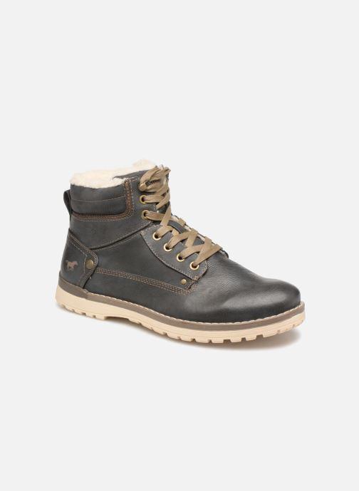 Bottines et boots Mustang shoes 4092609 Gris vue détail/paire