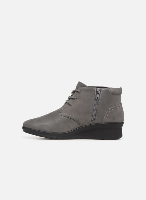 Ankle boots Clarks Caddell Hop Grey front view