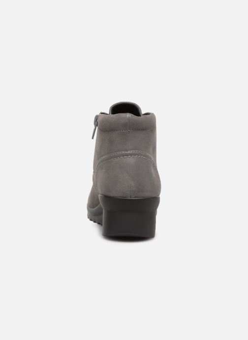 Ankle boots Clarks Caddell Hop Grey view from the right