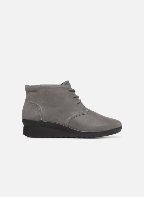 Ankle boots Clarks Caddell Hop Grey back view
