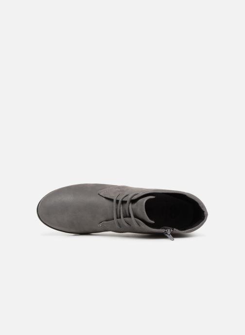 Boots en enkellaarsjes Clarks Caddell Hop Grijs links