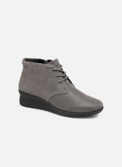 Bottines et boots Clarks Caddell Hop Gris vue détail/paire