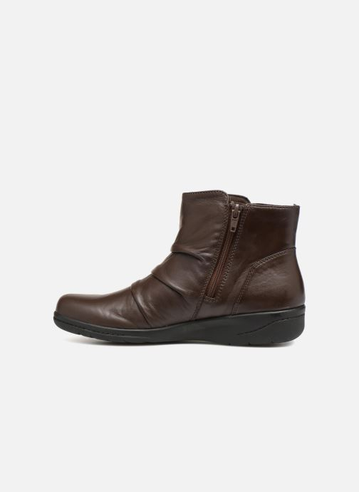 Bottines et boots Clarks Cheyn Anne Marron vue face