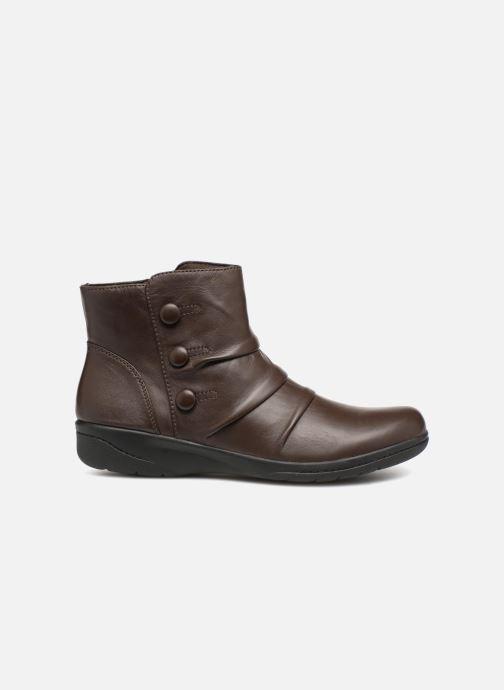 Bottines et boots Clarks Cheyn Anne Marron vue derrière