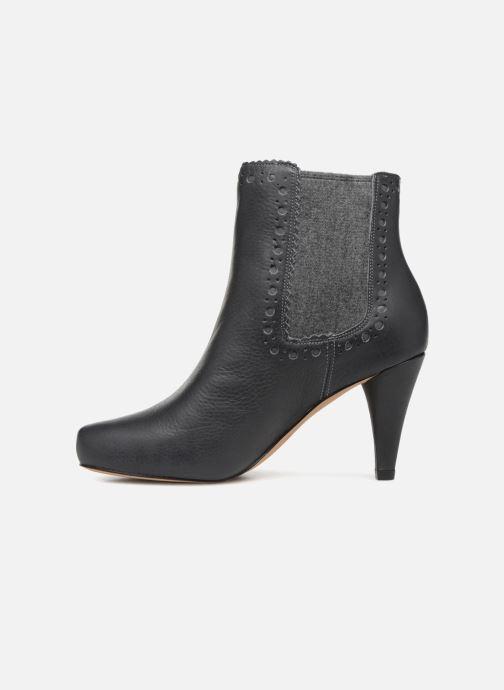 Bottines et boots Clarks Dalia Bella Gris vue face