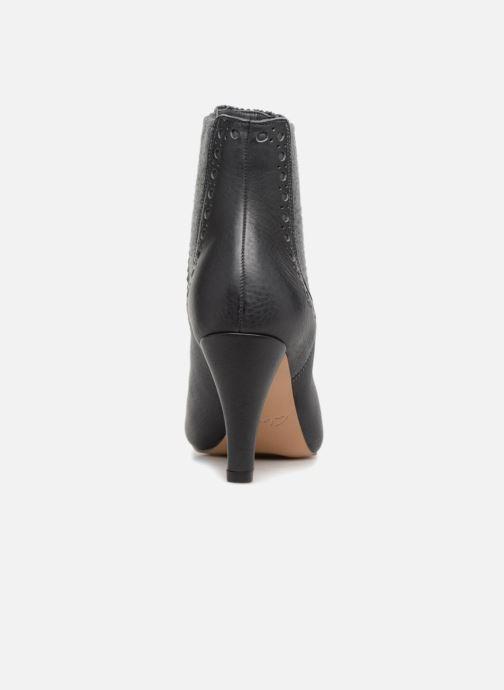 Bottines et boots Clarks Dalia Bella Gris vue droite