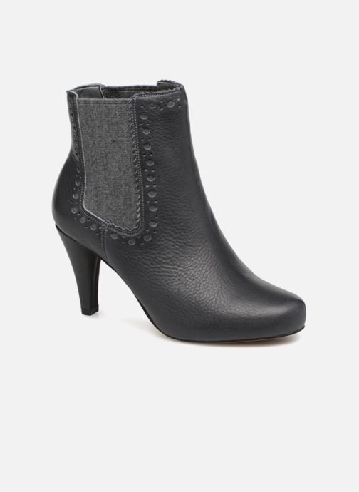 Bottines et boots Clarks Dalia Bella Gris vue détail/paire