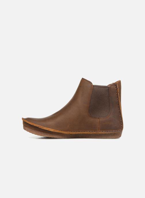 Bottines et boots Clarks Janey Dee Marron vue face