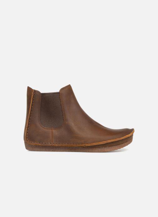 Bottines et boots Clarks Janey Dee Marron vue derrière