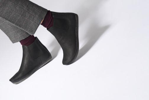 Bottines et boots Clarks Janey Dee Noir vue bas / vue portée sac