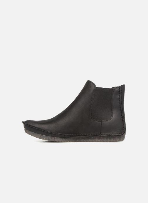 Bottines et boots Clarks Janey Dee Noir vue face