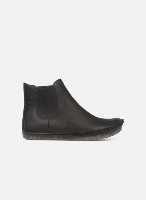 Bottines et boots Clarks Janey Dee Noir vue derrière
