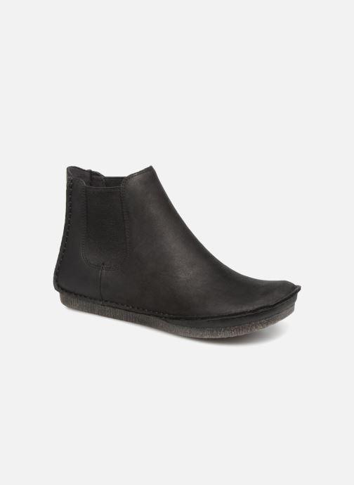 Bottines et boots Clarks Janey Dee Noir vue détail/paire