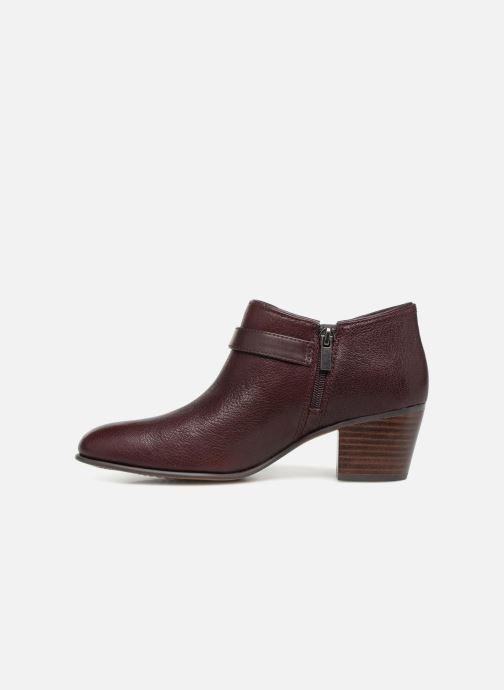 Bottines et boots Clarks Maypearl Milla Bordeaux vue face