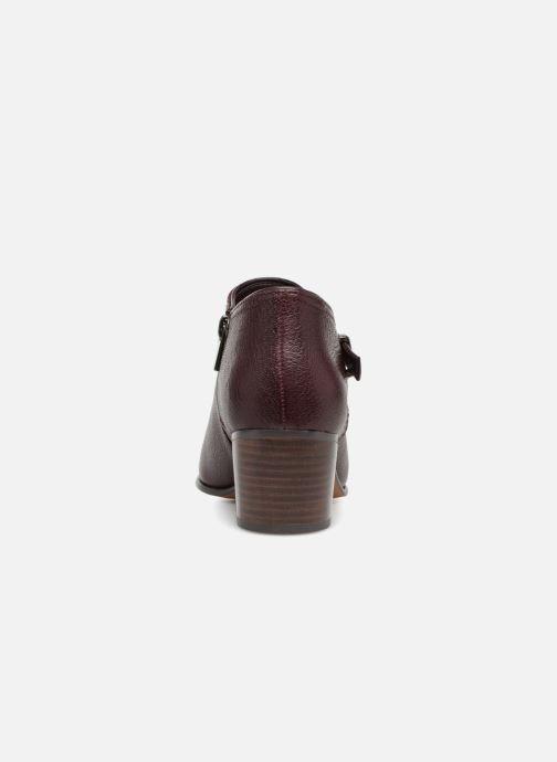 Boots Clarks Maypearl Milla Vinröd Bild från höger sidan