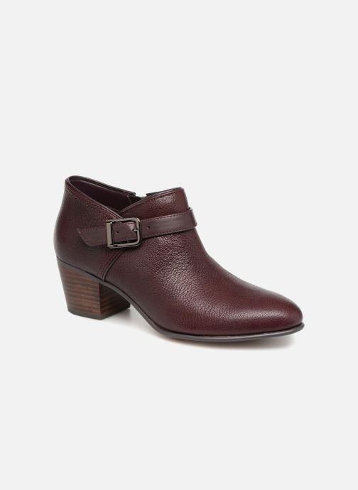 Bottines et boots Clarks Maypearl Milla Bordeaux vue détail/paire