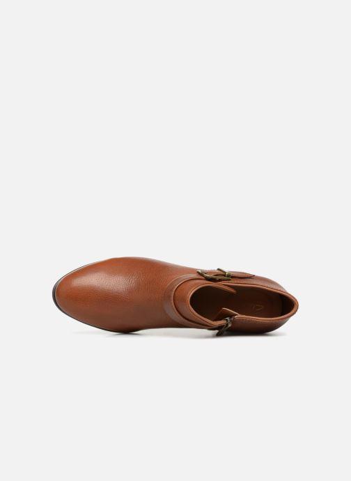 Bottines et boots Clarks Maypearl Milla Marron vue gauche