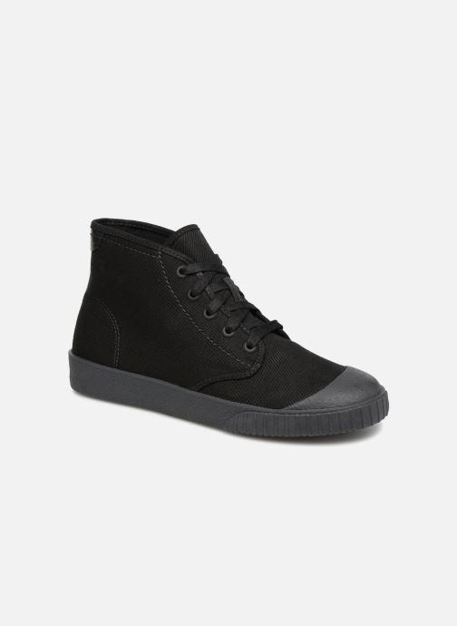 Sneakers Clarks Cyrus Rise Zwart detail
