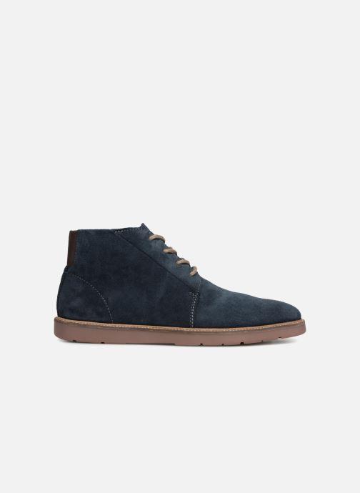 Bottines et boots Clarks Grandin Mid Bleu vue derrière