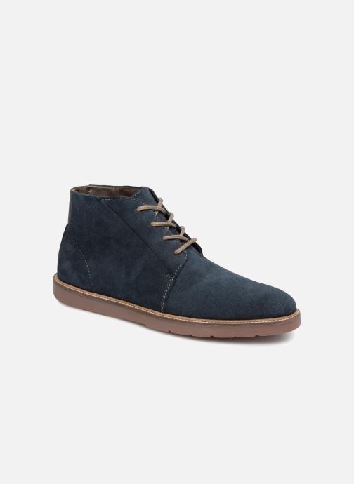 Bottines et boots Clarks Grandin Mid Bleu vue détail/paire