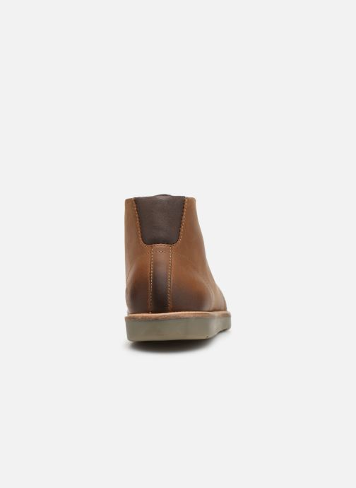Ankle boots Clarks Grandin Mid Brown view from the right