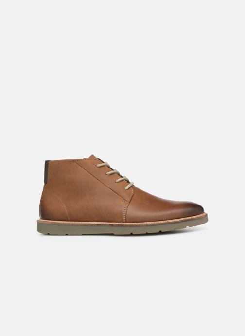 Ankle boots Clarks Grandin Mid Brown back view