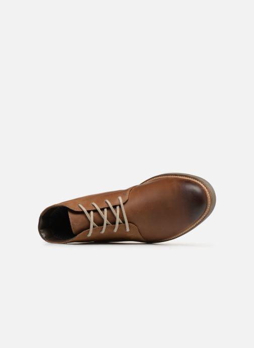 Bottines et boots Clarks Grandin Mid Marron vue gauche