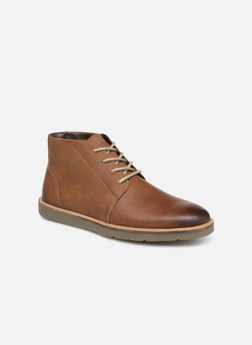 Bottines et boots Clarks Grandin Mid Marron vue détail/paire