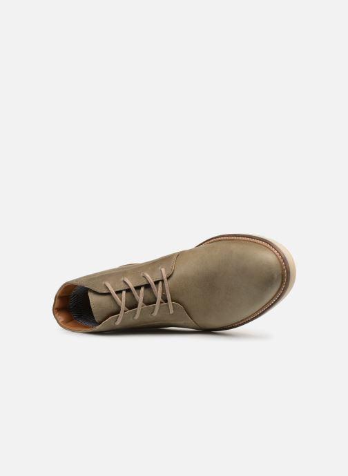 Bottines et boots Clarks Grandin Mid Vert vue gauche