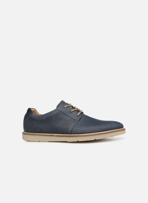 Zapatos con cordones Clarks Grandin Plain Azul vistra trasera