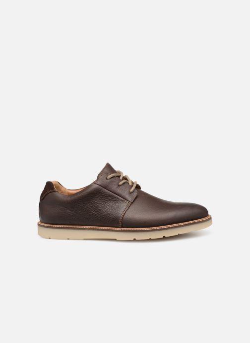 Chaussures à lacets Clarks Grandin Plain Marron vue derrière