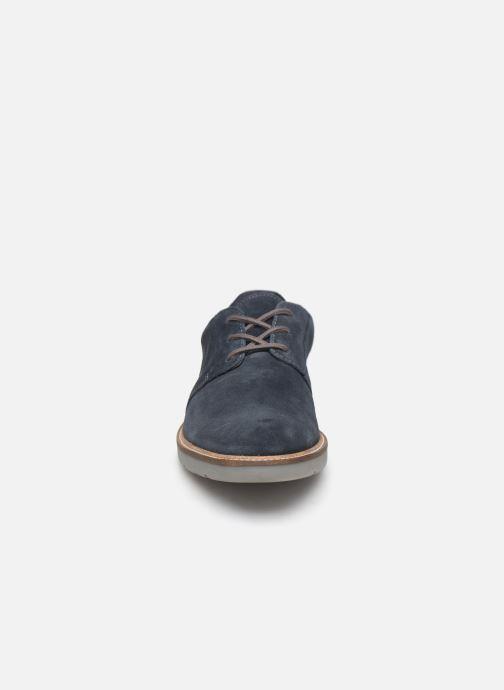 Snøresko Clarks Grandin Plain Blå se skoene på
