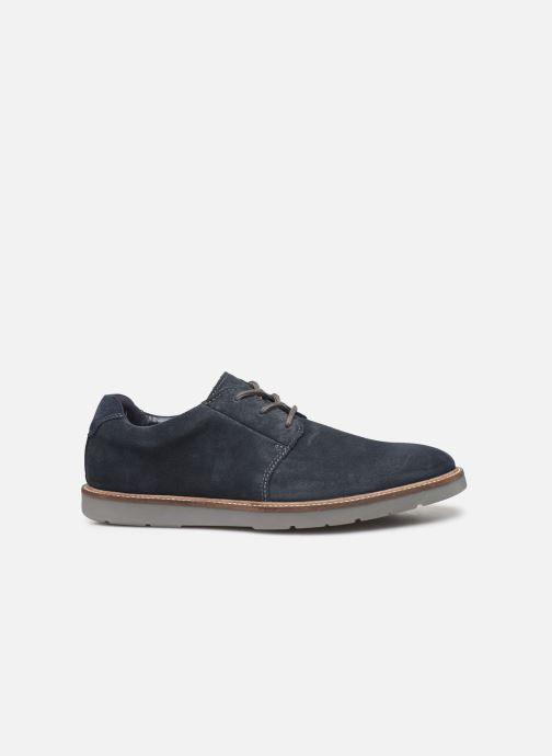 Lace-up shoes Clarks Grandin Plain Blue back view