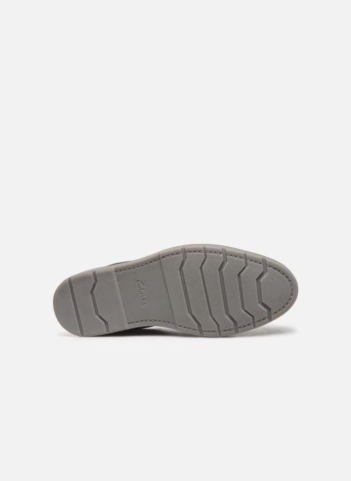 Chaussures à lacets Clarks Grandin Plain Bleu vue haut