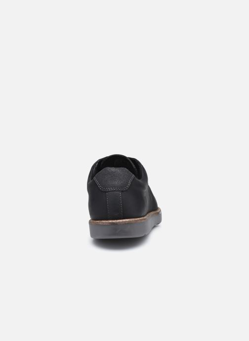 Chaussures à lacets Clarks Grandin Plain Noir vue droite