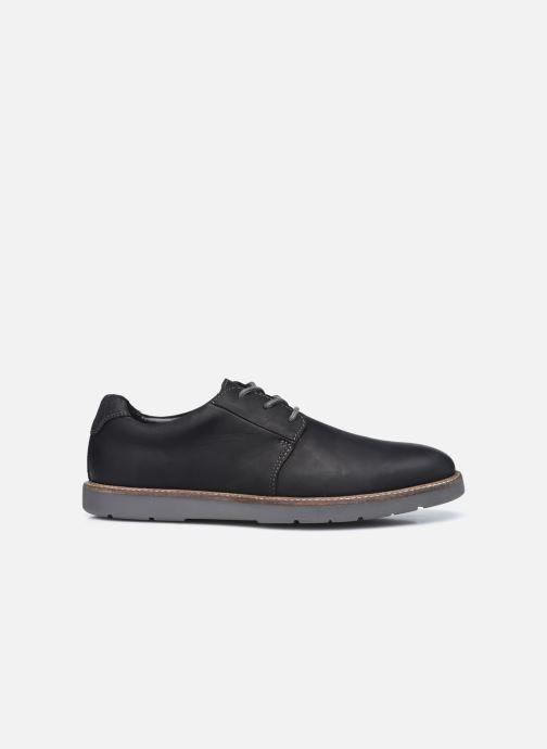 Chaussures à lacets Clarks Grandin Plain Noir vue derrière