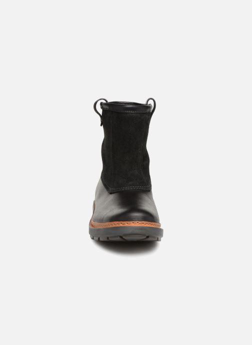 Bottines et boots Clarks Trace Top Noir vue portées chaussures