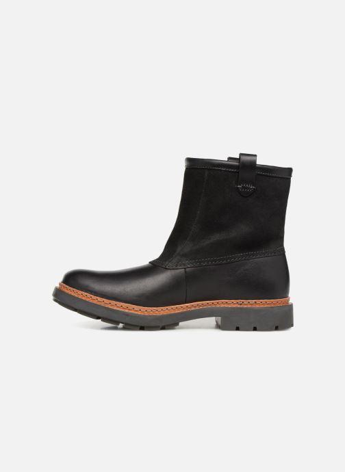 Bottines et boots Clarks Trace Top Noir vue face