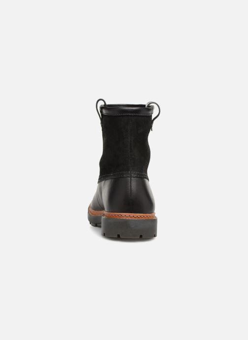 Bottines et boots Clarks Trace Top Noir vue droite