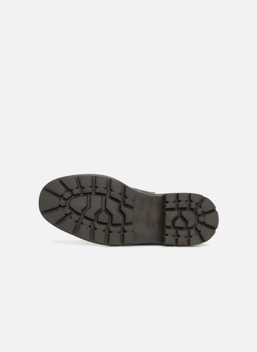 Bottines et boots Clarks Trace Top Noir vue haut