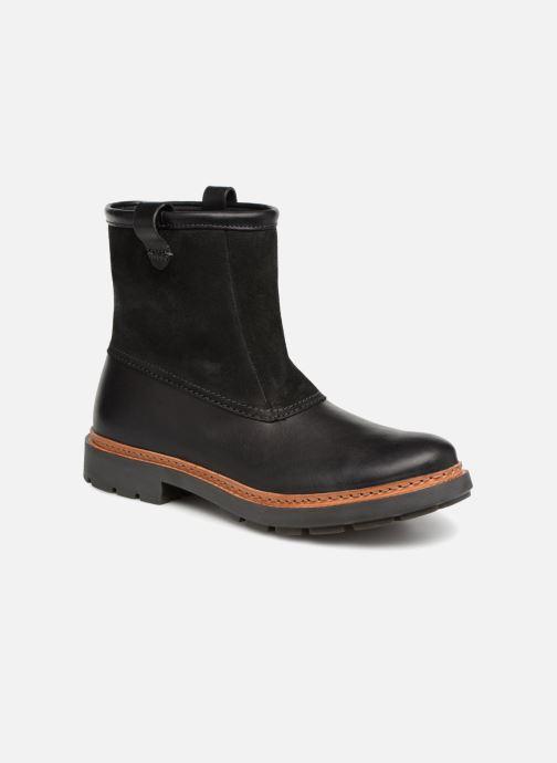 Bottines et boots Clarks Trace Top Noir vue détail/paire