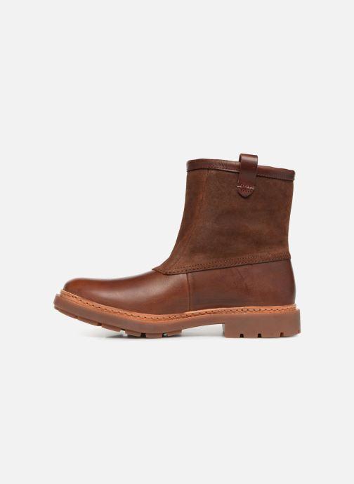 Bottines et boots Clarks Trace Top Marron vue face
