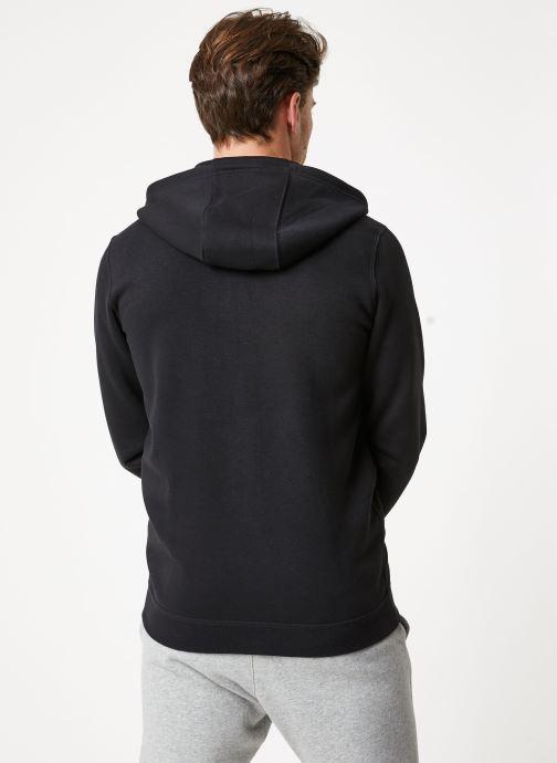 Vêtements Nike M Nike Sportwear Club Hoodie Full Zip Noir vue portées chaussures