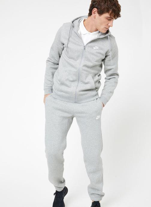 Tøj Nike M Nike Sportwear Club Hoodie Full Zip Grå se forneden
