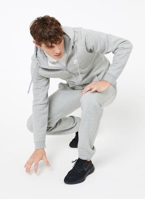 Vêtements Nike M Nike Sportwear Club Pant Cf Gris vue bas / vue portée sac