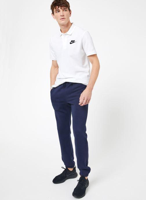 Ropa Nike M Nike Sportwear Club Pant Cf Azul vista de abajo