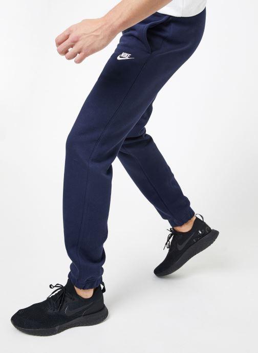 Ropa Nike M Nike Sportwear Club Pant Cf Azul vista de detalle / par