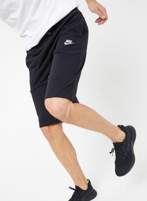 Tøj Nike M Nike Sportwear Club Short Jersey Sort detaljeret billede af skoene
